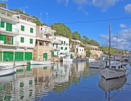Malerisch liegen die Fischerboote im Hafen von Cala Figuera - definitiv einer der schönsten Orte der Insel