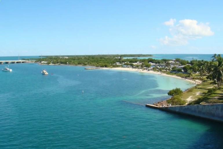 Der Overseas Highway verbindet 40 Inseln der Florida Keys