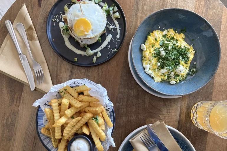 Neu unter den Restaurants auf Sylt: die entspannte Küche im Goldgelb in Westerland