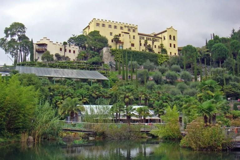 Die Gärten von Schloss Trauttmansdorff bei Meran zählen zu den Highlights in Südtirol