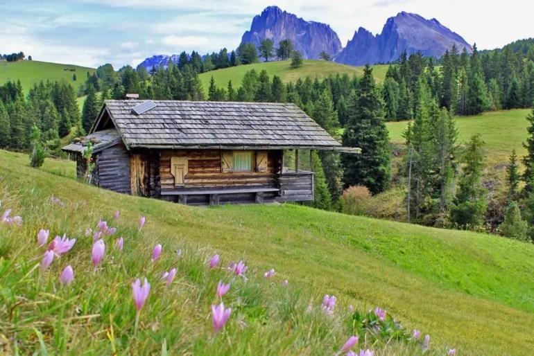 Die Bergwelt Südtirols ist perfekt für einen letzten Stopp auf dem Roadtrip durch Italien