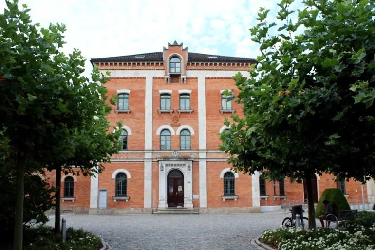 Das Rathaus von Rosenhheim - oder auch die Polizeidienststelle der Rosenheim Cops