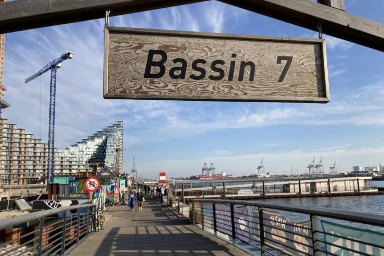 Das Bassin 7 bietet einen Mix aus Hafenbad und Streetfood mit Ausblick