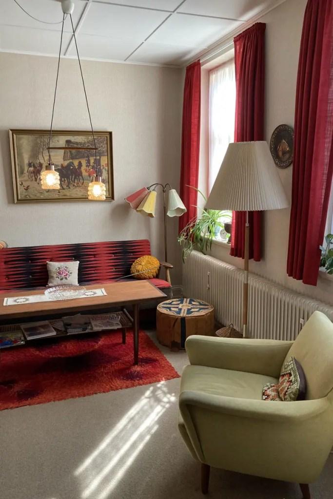 Einblicke in die Wohnwelt der 70er gibt's im Den Gamle By