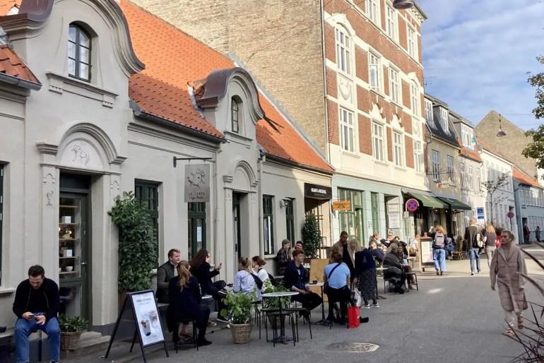 Das Latinerkvarteret oder auch Latiner-Viertel bietet zahlreiche Restaurants und Cafés