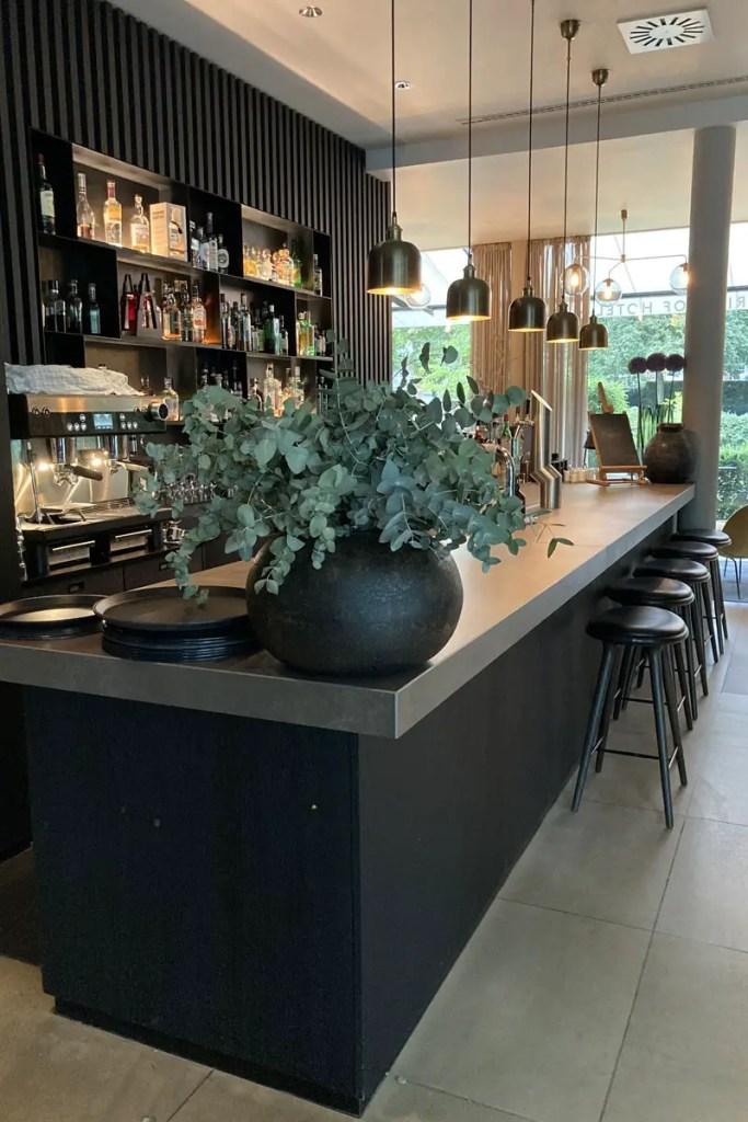 Die coole Bar im Hotel Mauritzhof