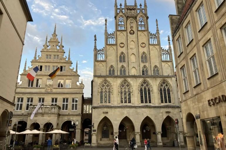 Im Rathaus von Münster wurde Geschichte geschrieben