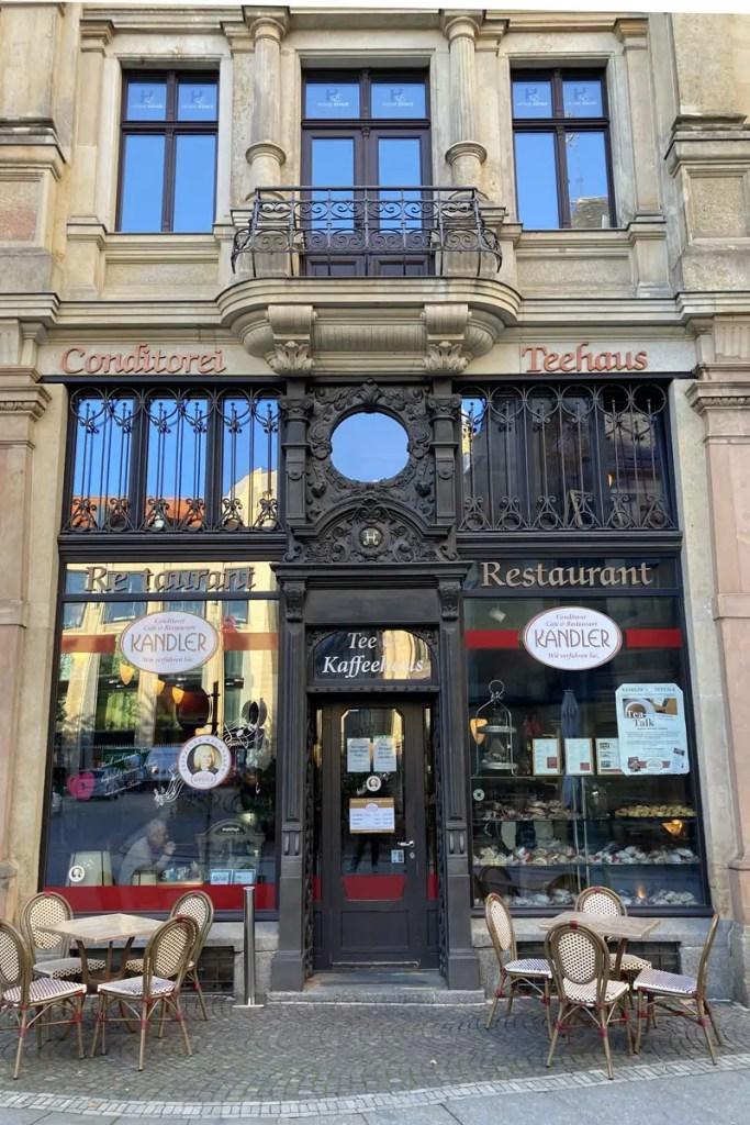 Im Café Kandler gibt's die berühmten Leipziger Lerchen