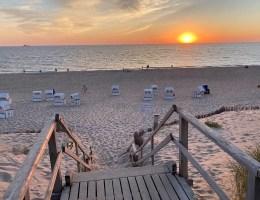 Die grandiosen Sonnenuntergänge auf der Insel zählen definitiv zu den Sylt Highlights