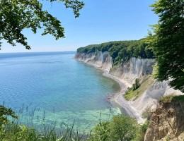 Die Kreidefelsen sind das Wahrzeichen der Ostseeinsel Rügen