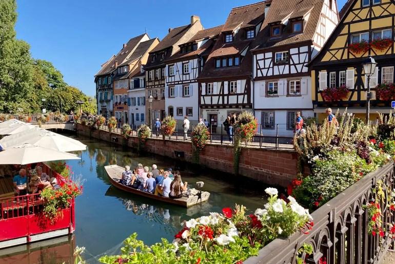 In Colmar zählt Klein Venedig zu den schönsten Zielen