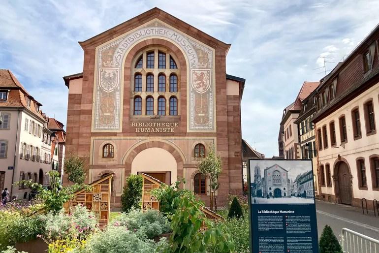 Die Humanistenbibliothek in Selestat zählt zum Unseco-Weltdokumentenerbe