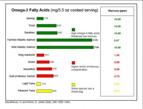 omega-3 Fatty Acid Fish Safety Doses