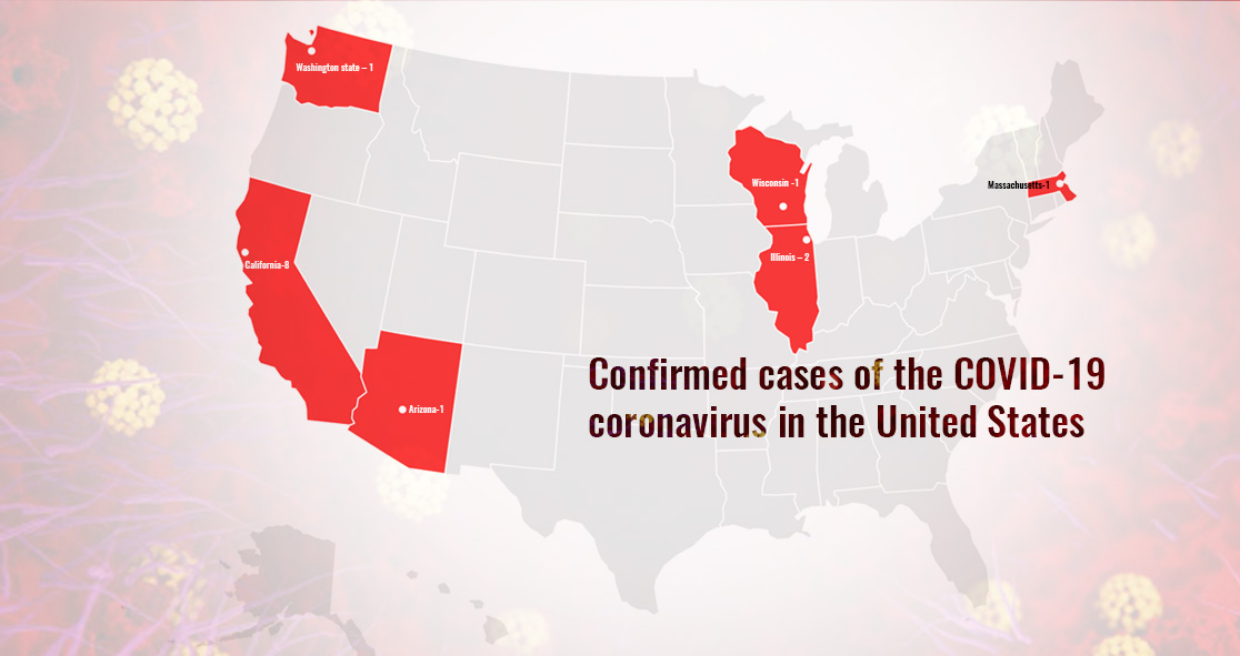 States Affected by COVID-19 Coronavirus in the US – Myhealthyclick.com