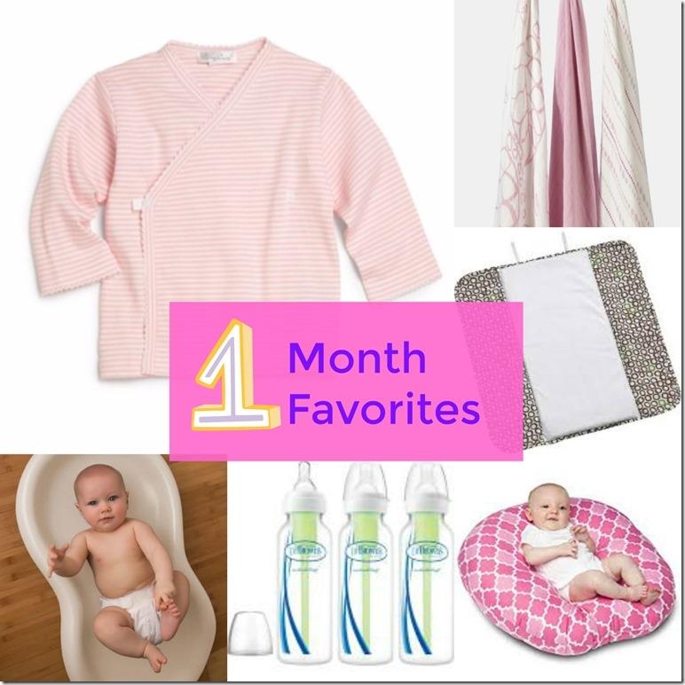 Newborn Baby Favorite Items
