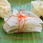 Little Millet Fryums   Saamai ilai Vadagam