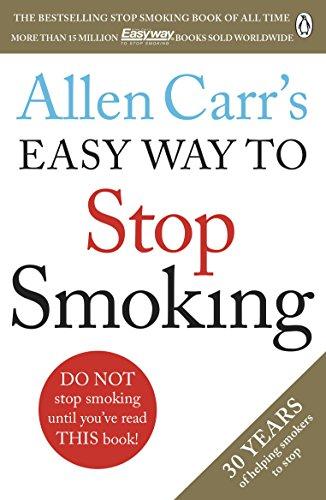 Allen Carr book Easy way to stop smoking