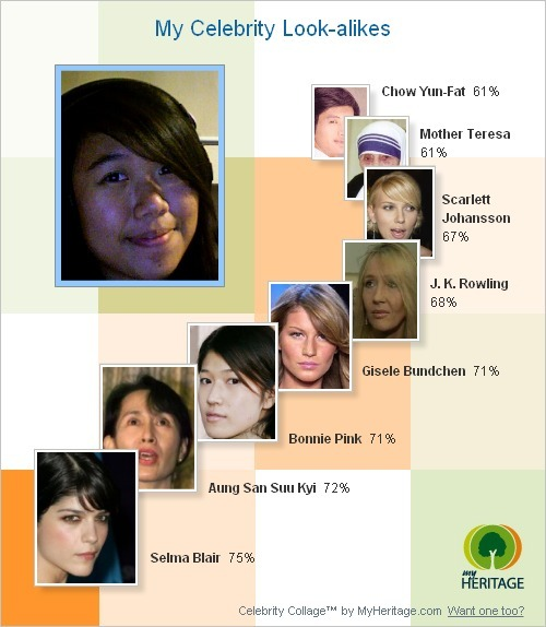 *a +trd*: Celebrity Morph by MyHeritage