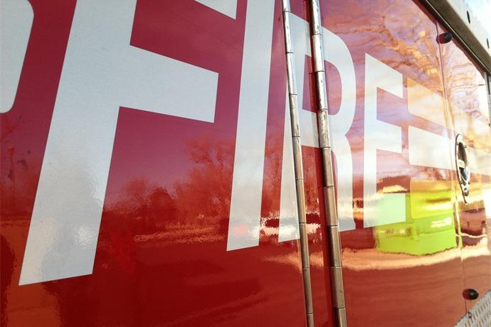 9_11 Fire Truck Visits Bivins Elementary_4908307548435663274