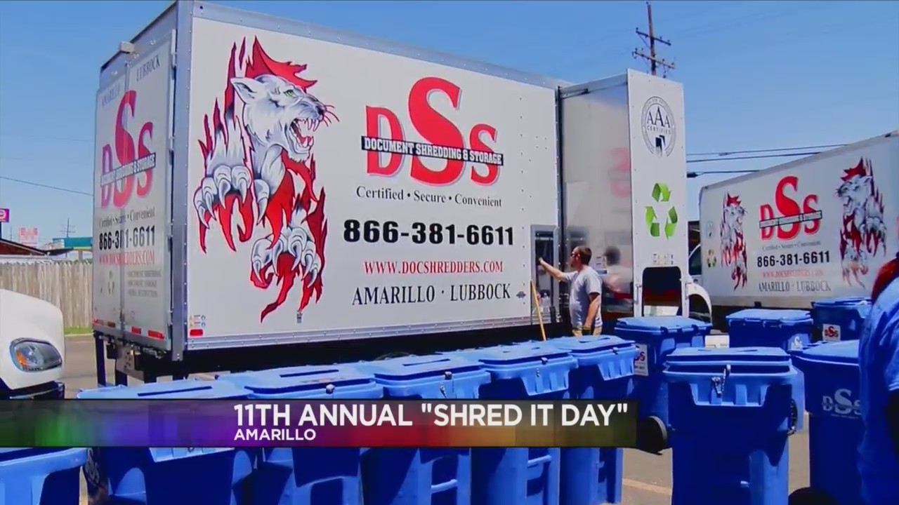 "Amarillo Crime Stoppers Hosting 11th Annual ""Shred it Day"" This Saturday"