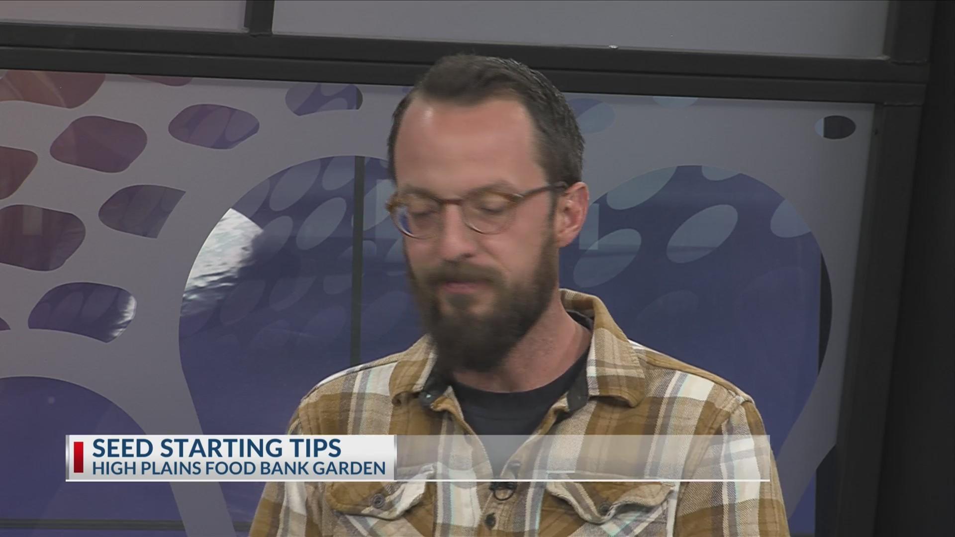 High Plains Food Bank Garden - Seed Starting Tips