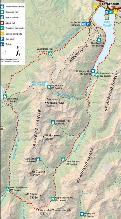 Traverse sabine circuit map