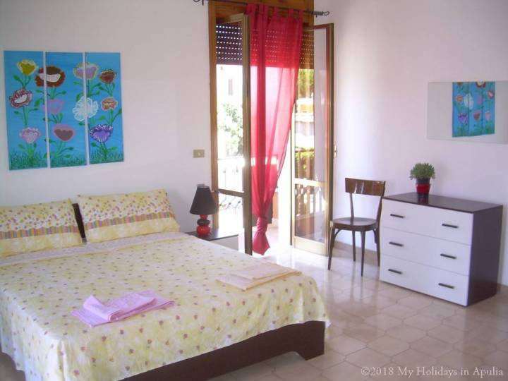 Amandine first master bedroom apartment