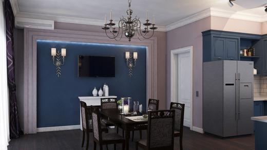 дизайн кухни столовой в частном доме фото 2