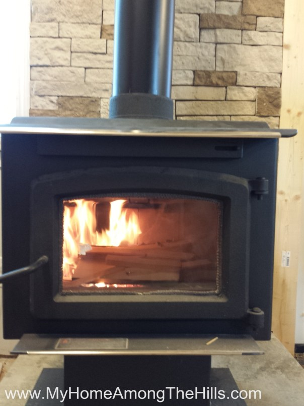 The new wood stove!