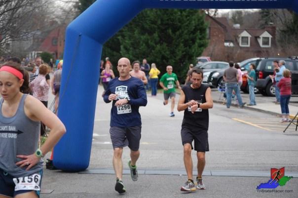 A hard run