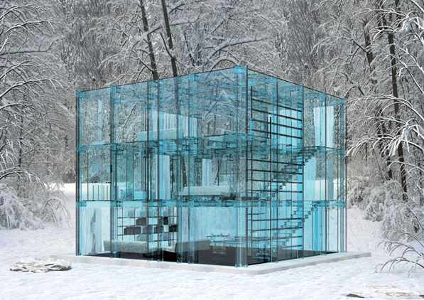 transparent house design