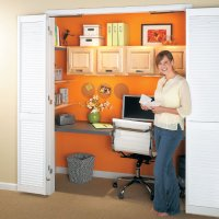 Compact Closet Office | My Home My Style