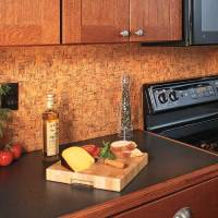 Update a Backsplash with Cork Flooring | My Home My Style