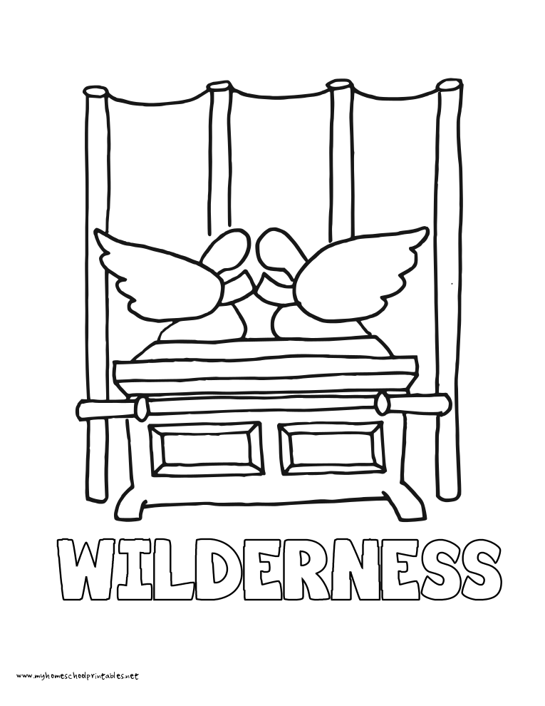 God S Glory In The Tabernacle Coloring Pages Coloring Pages