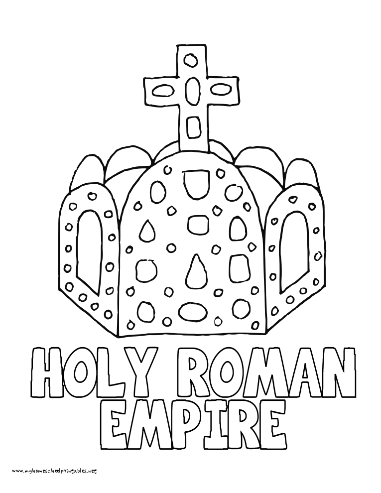 Rome Colosseum Coloring Pages