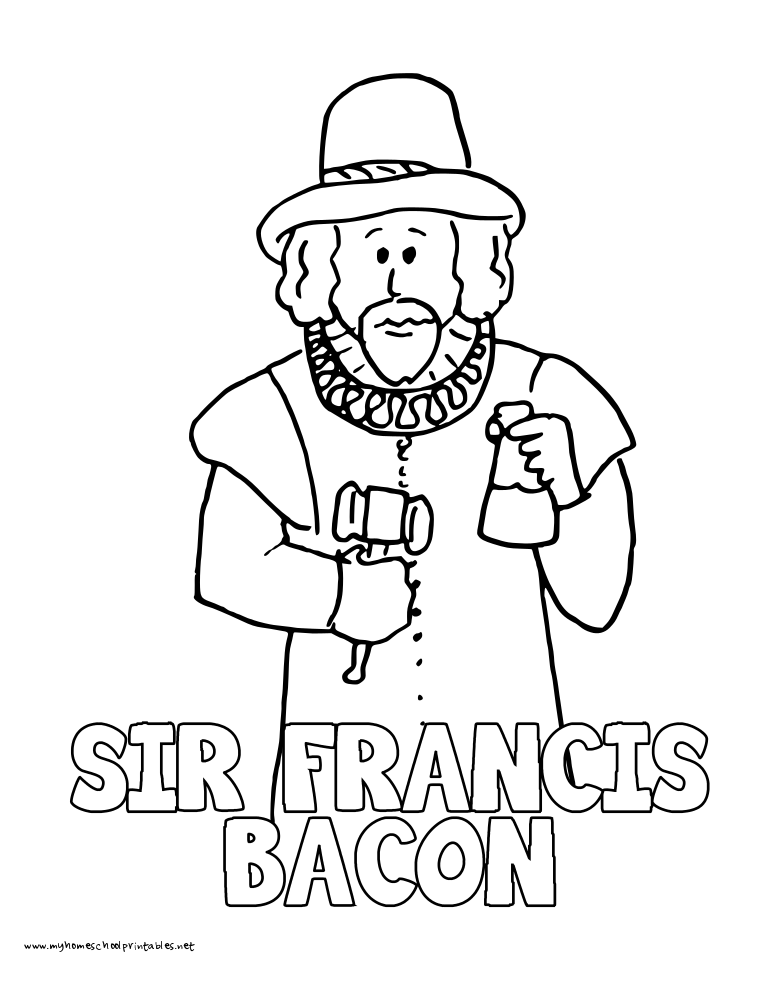 My Homeschool Printables » History Coloring Pages
