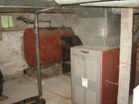 Old furnace and oil tank - MyHomeScience