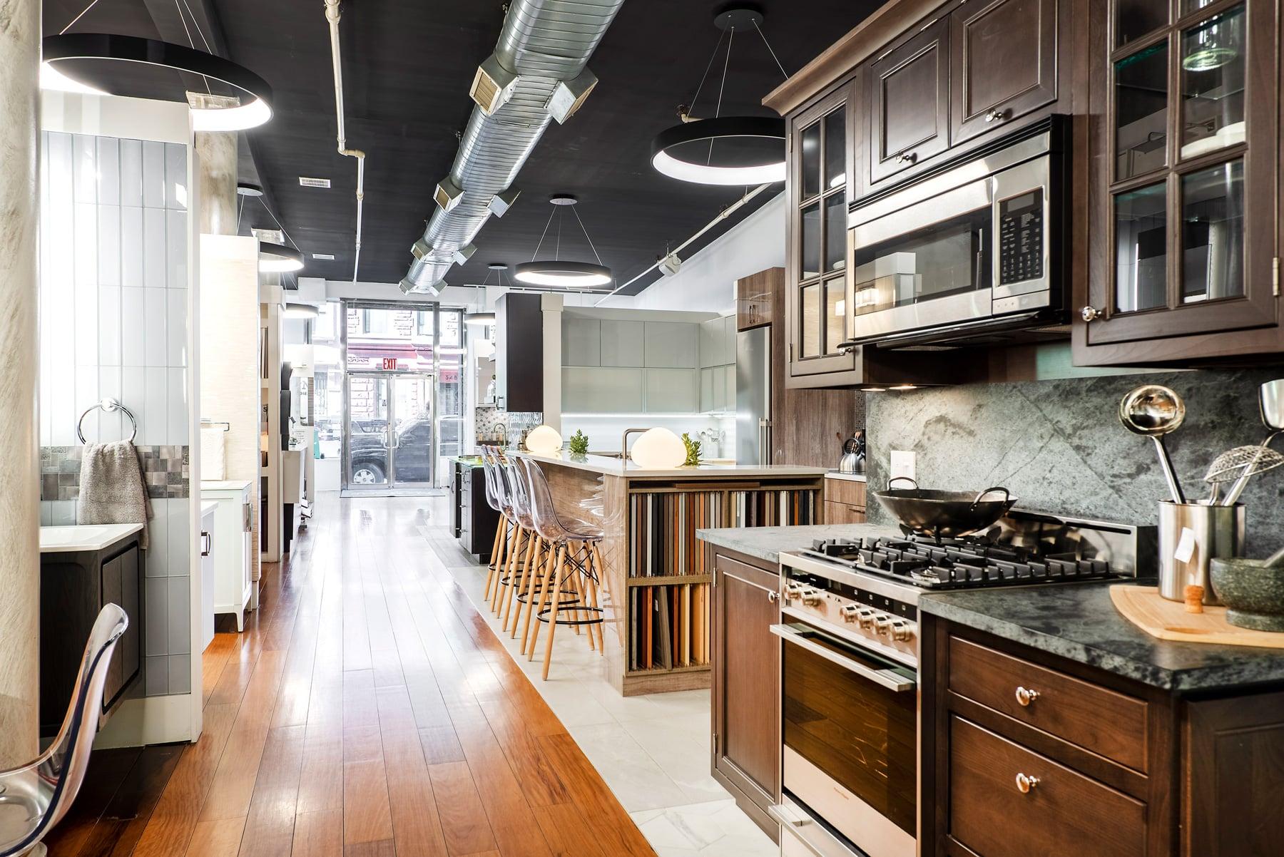 kitchen and bath showrooms viking appliances nyc showroom