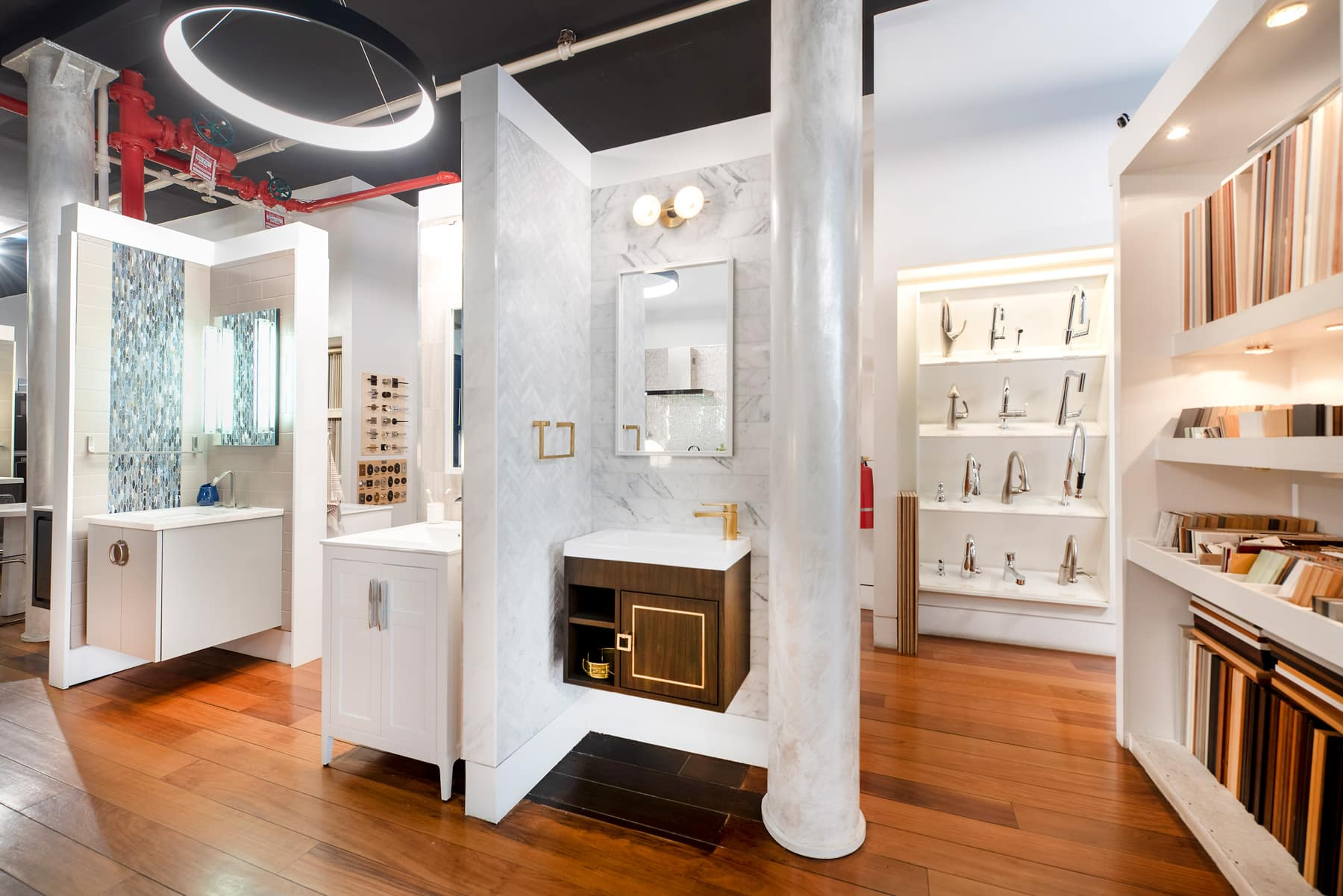 kitchen and bath showrooms undermount farmhouse sink nyc showroom