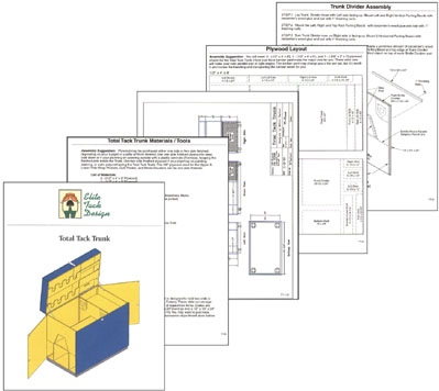 Tack Box Plans For Horses