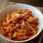 Cheater Spicy Chicken Penne | My Hot Southern Mess