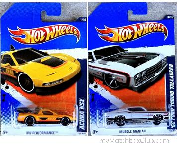2011-Hot-Wheels-69-Ford-Torino-Talladega-Acura-nsx-Preview