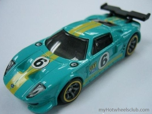 Hotwheels Speed Machines Fordgt Lm Teal Blue