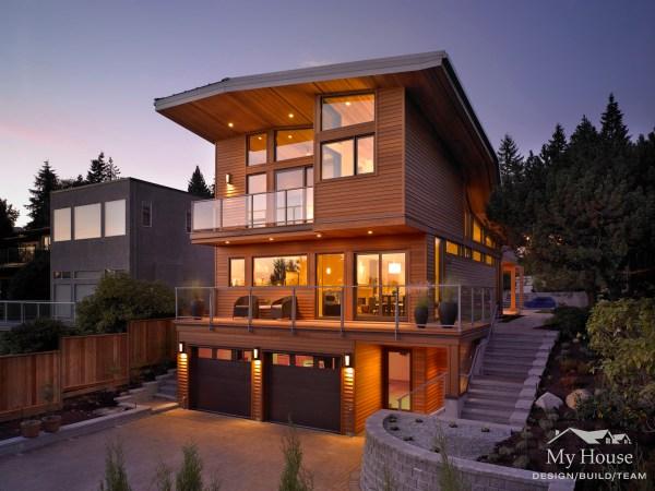 Custom Homes West Vancouver - Modern