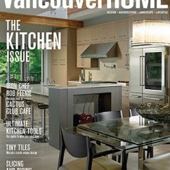 Kitchen Magazines Pan Set Home Renovation Designer Featuring My House Design Build Renovations Vancouver Magazine Cover