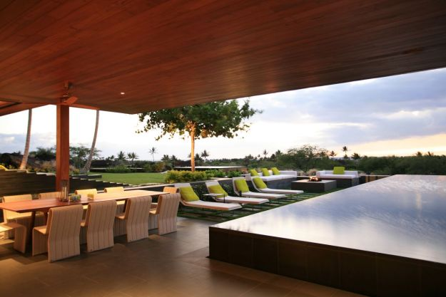 moderngarden design in Hawaii.