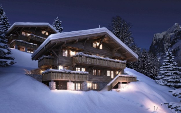 Bergwelt Chalets, Grindelwald, Switzerland 01