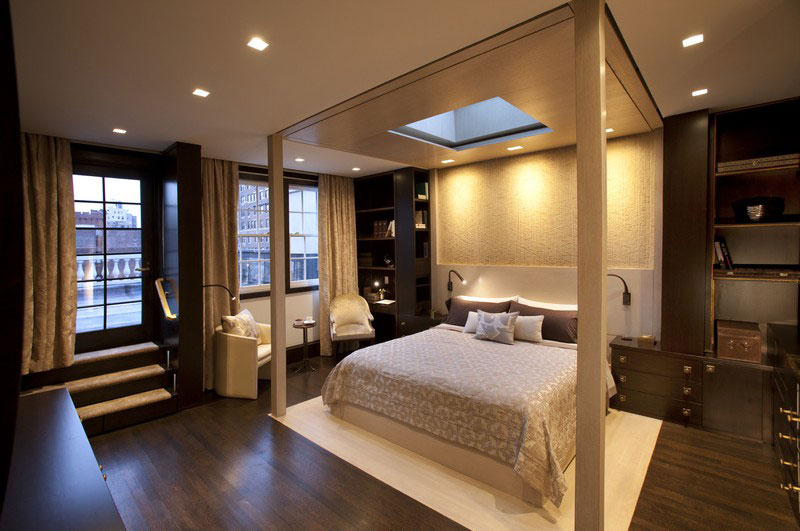Master Suite BedStair by Perianth Interior Design