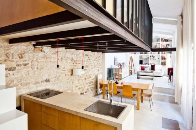 Transformation d'un Atelier en Loft by NZI Architectes 01