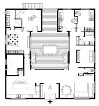 Patio House by Henkin Shavit Architecture & Design